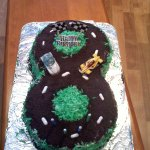 Figure 8 Race Track Cake Instructables