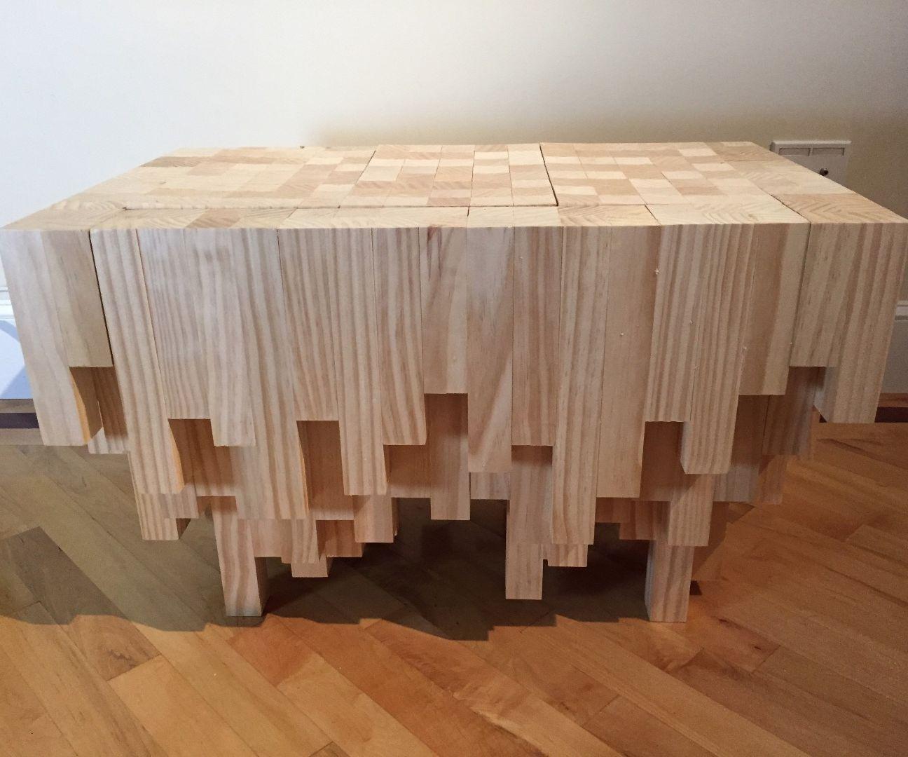 cascade coffee table with hidden