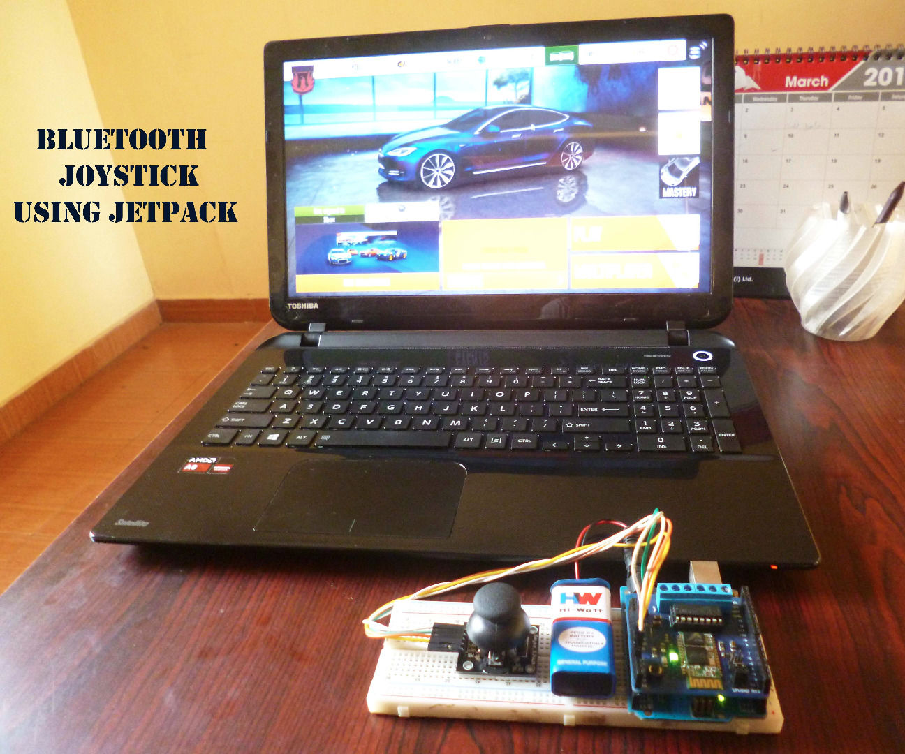 Bluetooth Game Controller(Joystick) With Arduino and Jetpack : 3 Steps - Instructables