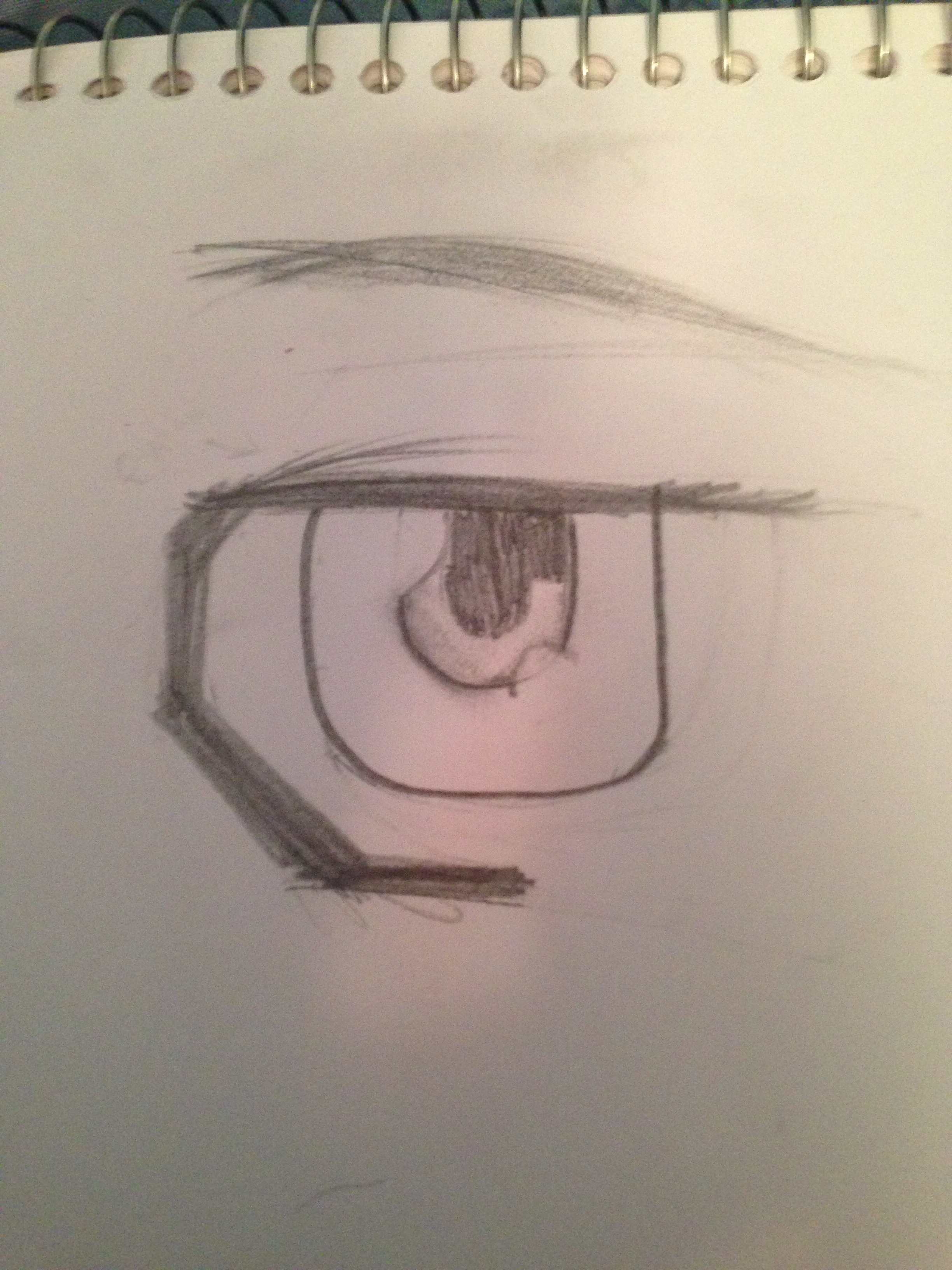 How To Draw Male Anime Eyes : anime, Manga/Anime, Steps, Instructables
