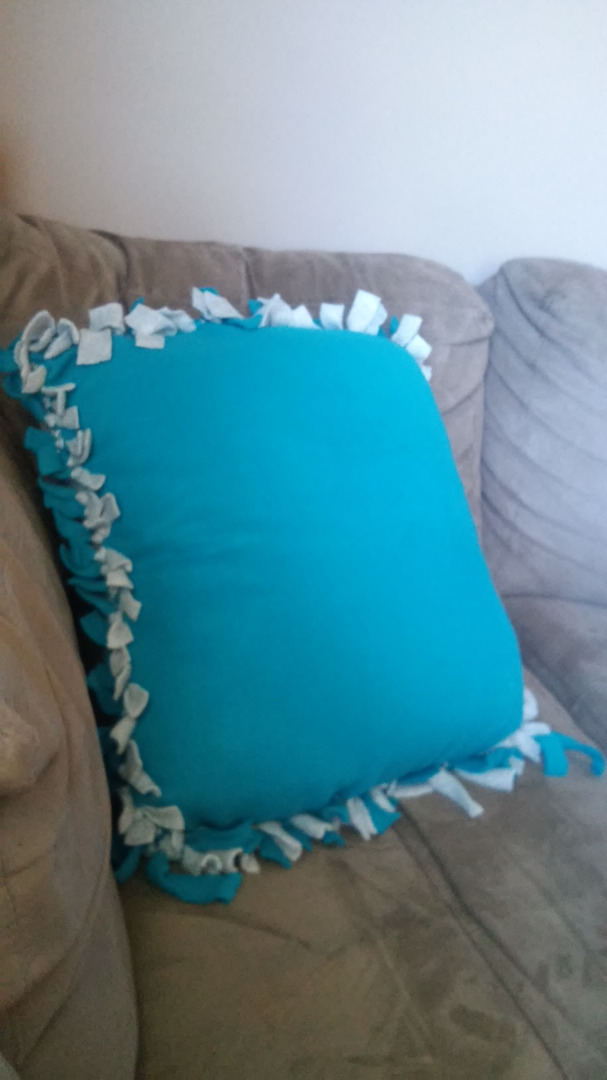 diy no sew pillow 8 steps instructables