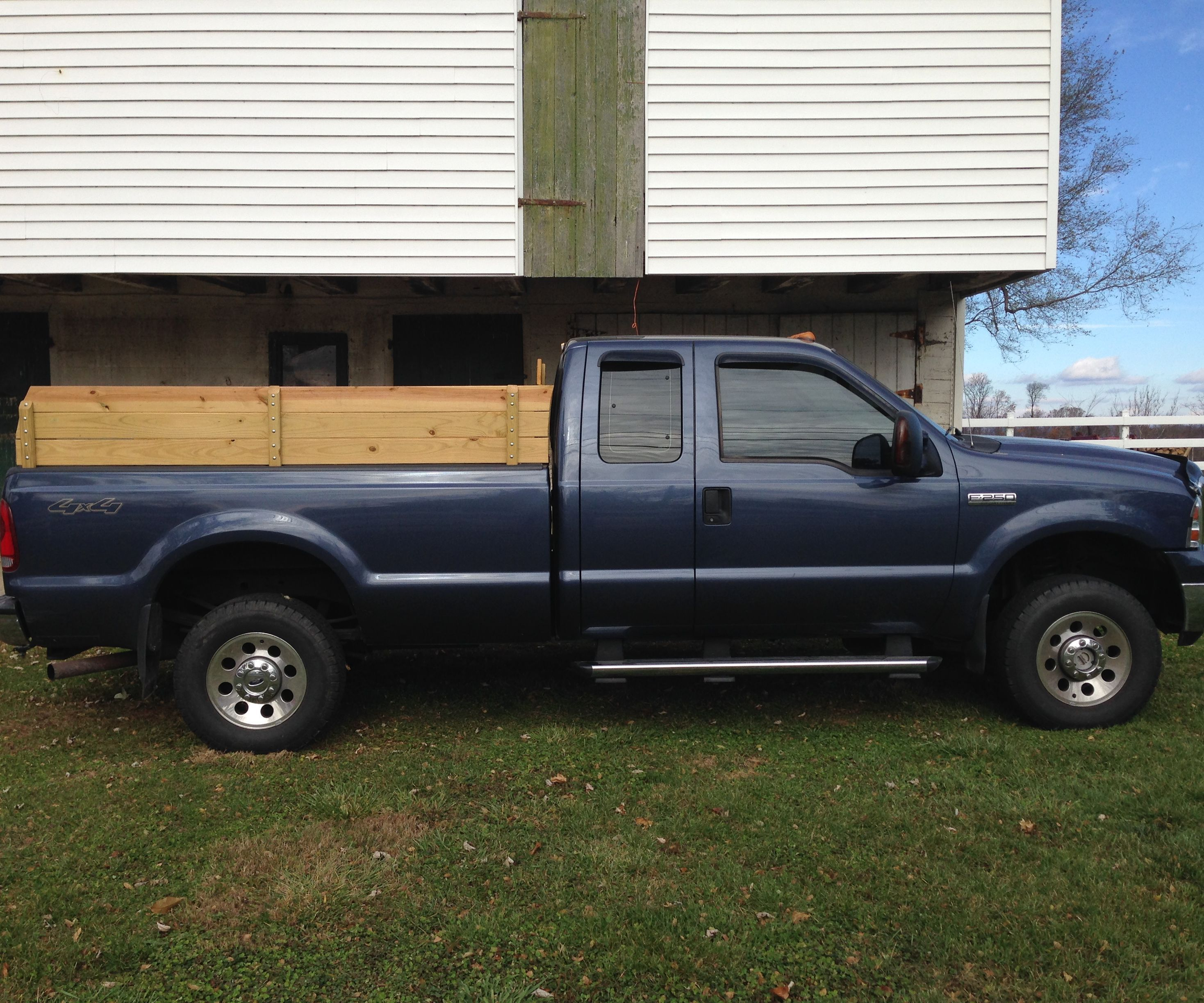 pickup truck sideboards stake sides