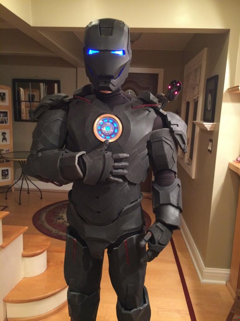 Iron Man MK6 MK 6 Suit by DaDave - Thingiverse
