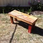 Diy Pallet Bench 9 Steps Instructables