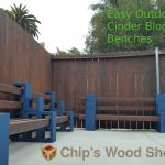 Easy Outdoor Cinder Block Benches 9 Steps With Pictures Instructables