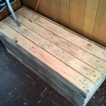 Recycled Pallet Storage Bench 8 Steps Instructables
