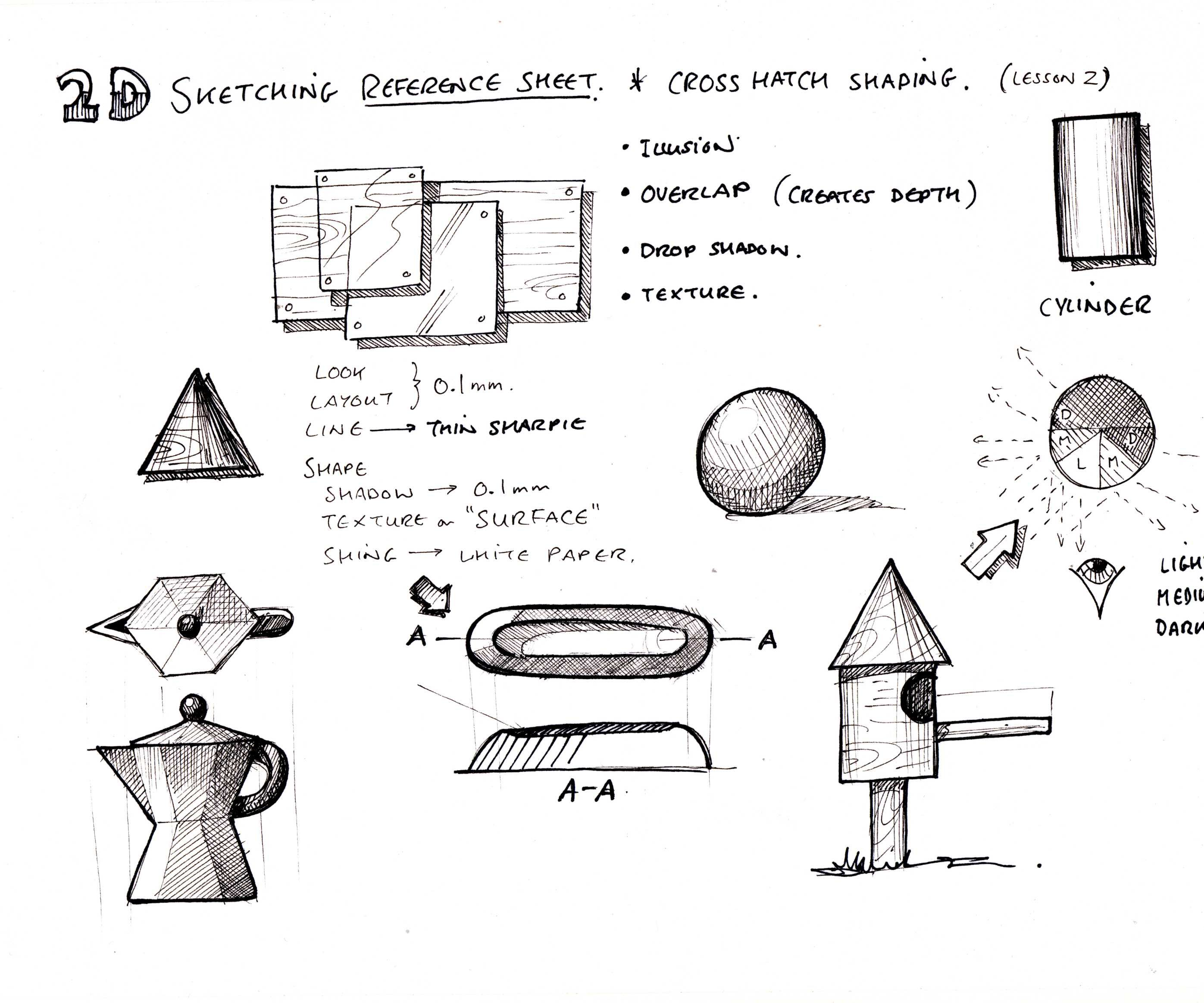 Sketching \u0026 Drawing Lessons : 9 Steps (with Pictures) - Instructables [ 2328 x 2793 Pixel ]