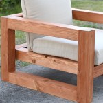Modern Outdoor Chair 8 Steps With Pictures Instructables