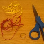 How To Weave Plastic Lacing Crafts 9 Steps Instructables