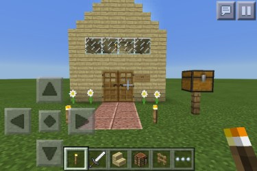 Minecraft Starter House : 9 Steps Instructables