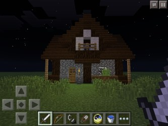 Minecraft Pe Small Medieval House : 7 Steps Instructables
