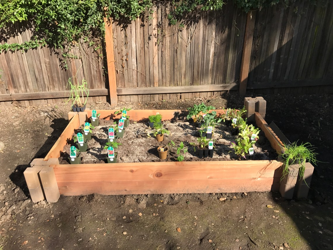 Raised Bed Garden For Those With Only Hand Tools 10 Steps With Pictures Instructables