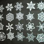 How To Make 6 Pointed Paper Snowflakes 11 Steps With Pictures Instructables