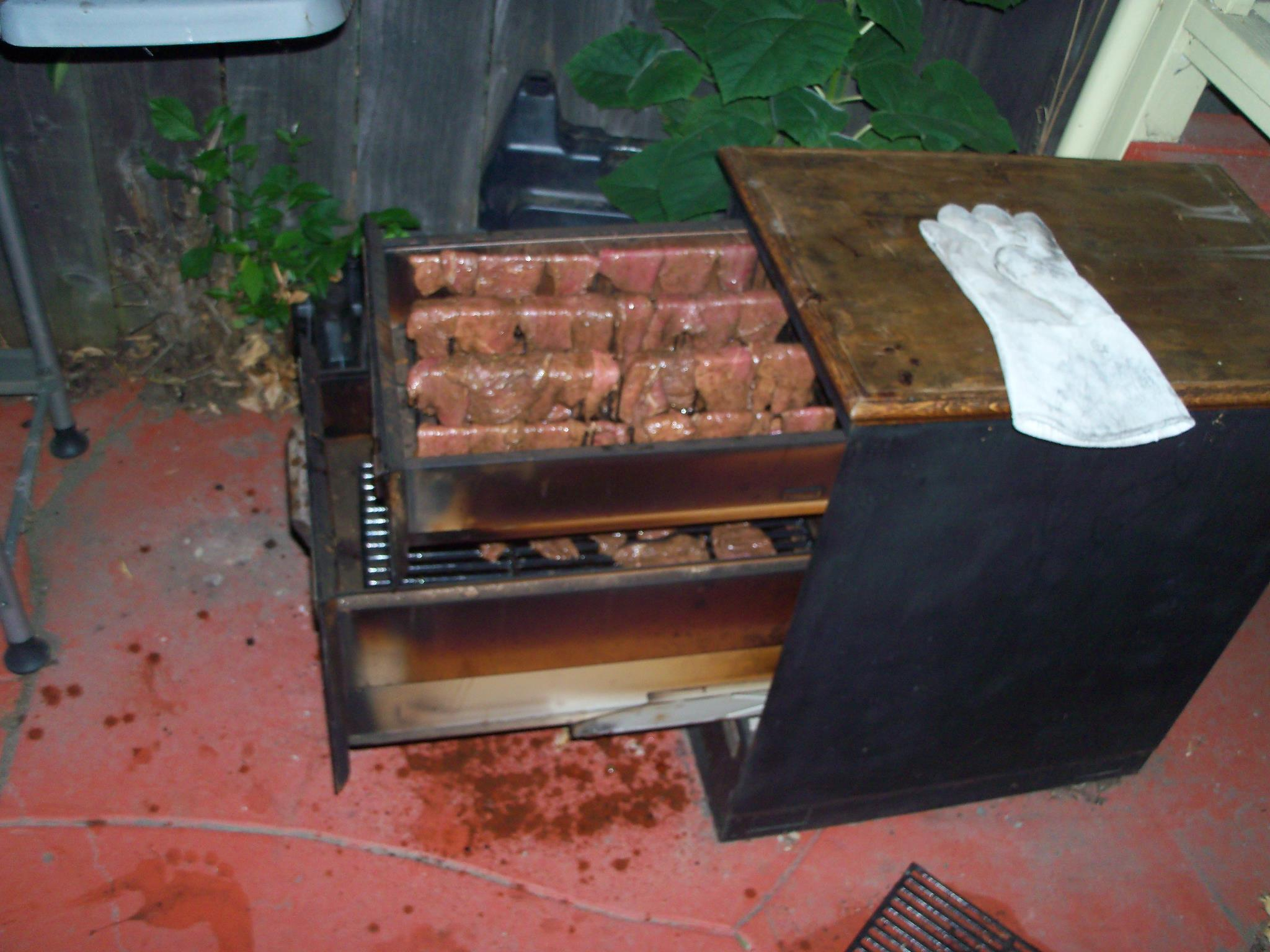 filing cabinet smoker 11 steps with