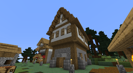 How to Build a Medieval House in Minecraft : 17 Steps with Pictures Instructables
