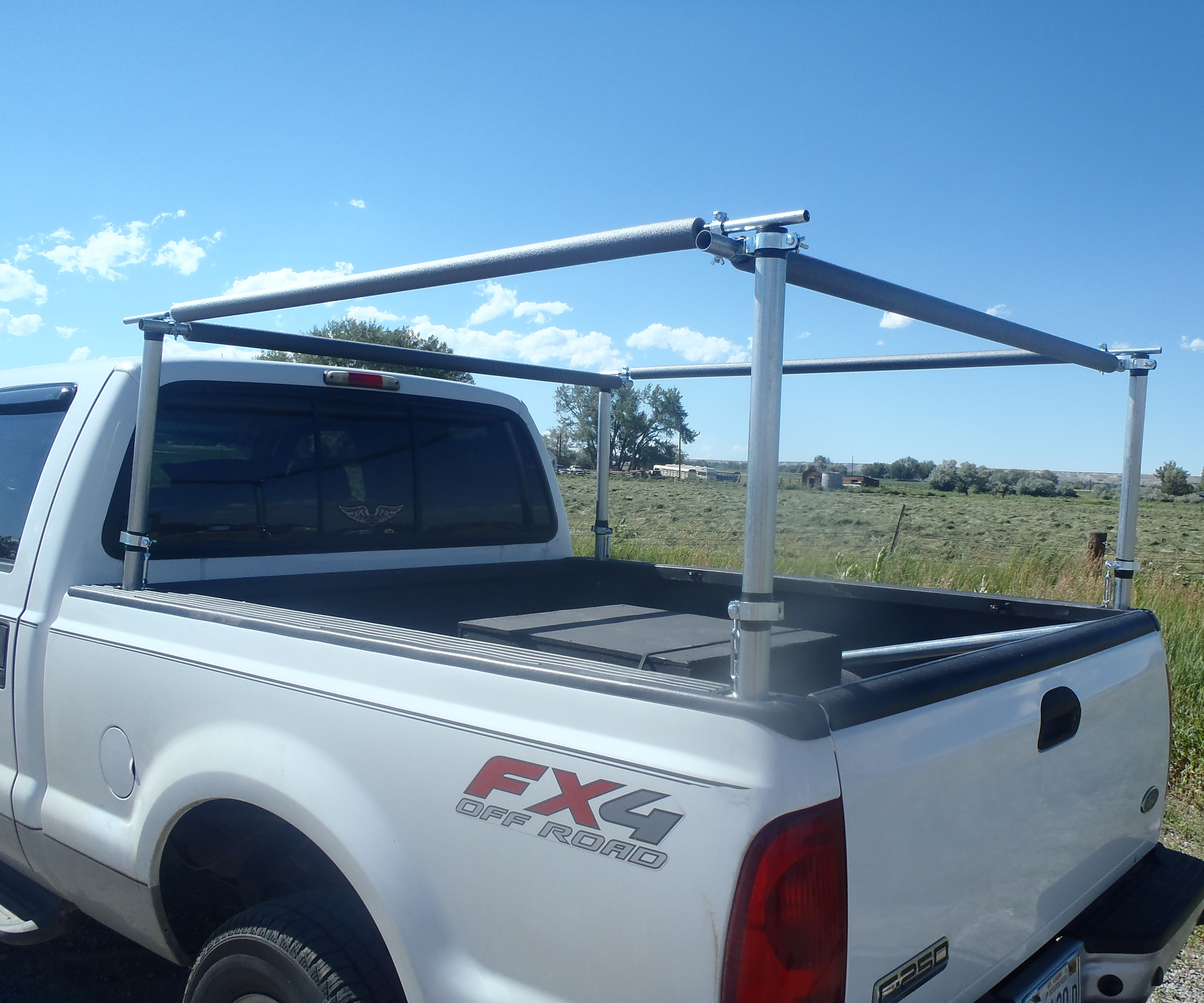 truck bed utility rack 9 steps with