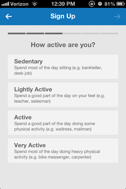 What Is Considered Lightly Active : considered, lightly, active, MyFitnessPal, IPhone, Steps, Instructables