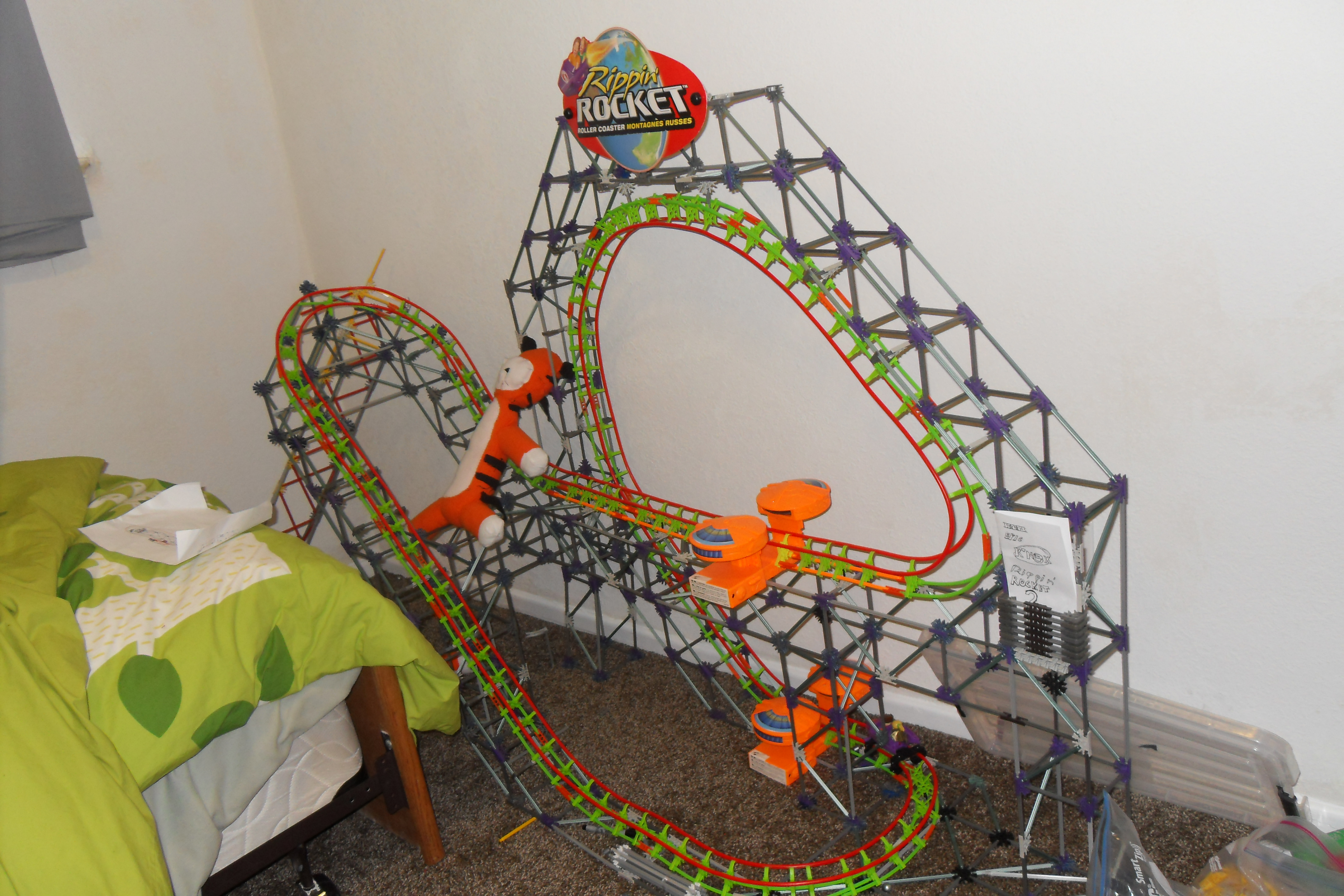 Knex Roller Coaster: Rippin' Rocket 3 - Instructables