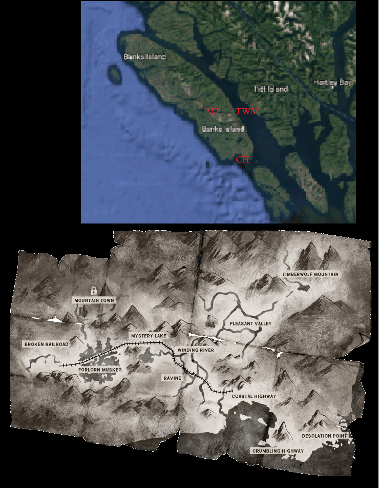 The Long Dark Forlorn Muskeg Map : forlorn, muskeg, Where, Great, Island?, General, Discussion, Hinterland, Forums