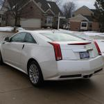 White Diamond Cadillac Cts Coupe Adamized With Cyclo Detailing Write Ups Adams Forums