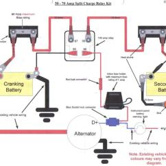 Vw Beetle Charging System Wiring Diagram Flat Gun Twin Batteries In A 90 300tdi - Defender Forum Lr4x4 The Land Rover