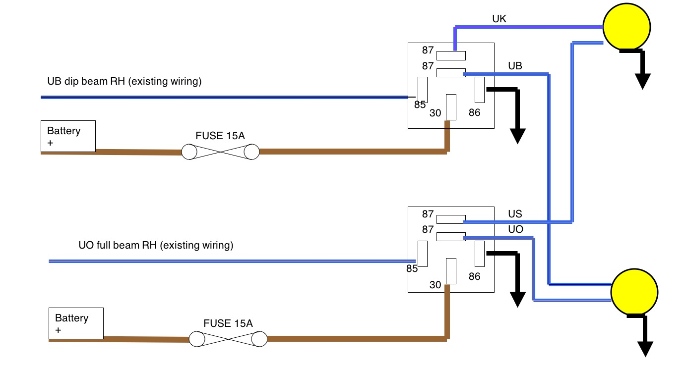 Relay Wiring Diagram Further Light Relay Wiring Diagram On Spdt Relay
