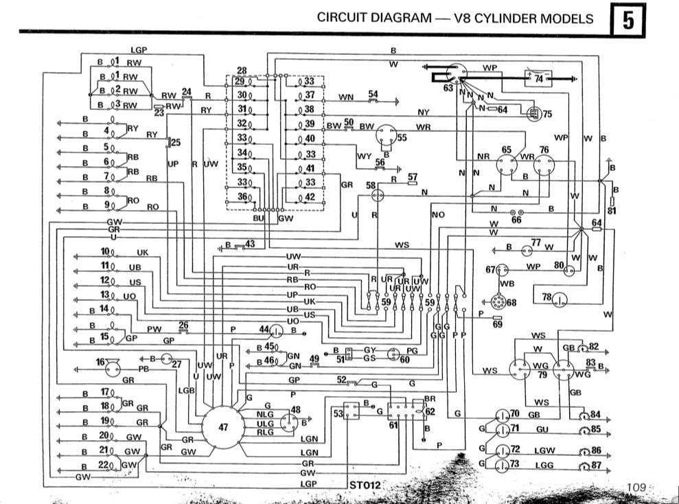 defender 90 wiring diagram