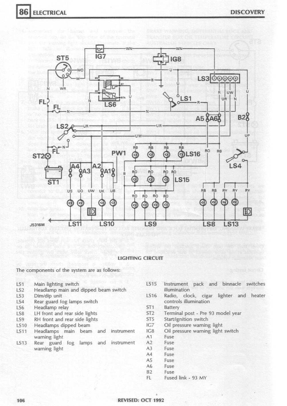 medium resolution of land rover 200tdi wiring diagram