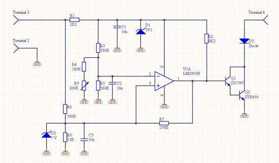 voltage sensitive switch relay  defender forum 1983