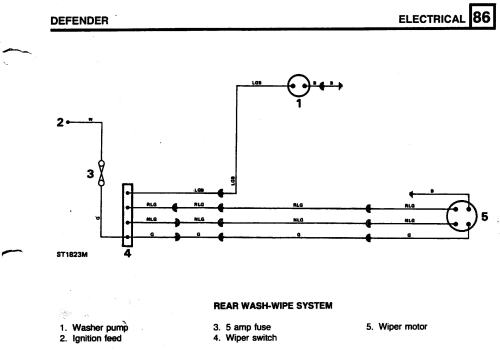 small resolution of defender wiper motor wiring diagram schema wiring diagram mix rear wiper motor wiring defender forum lr4x4