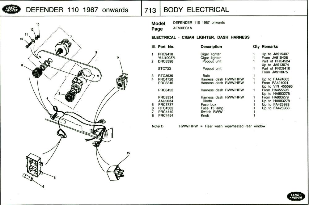 medium resolution of land rover defender heated windscreen wiring diagram wiring diagram dodge challenger wiring diagram land rover defender