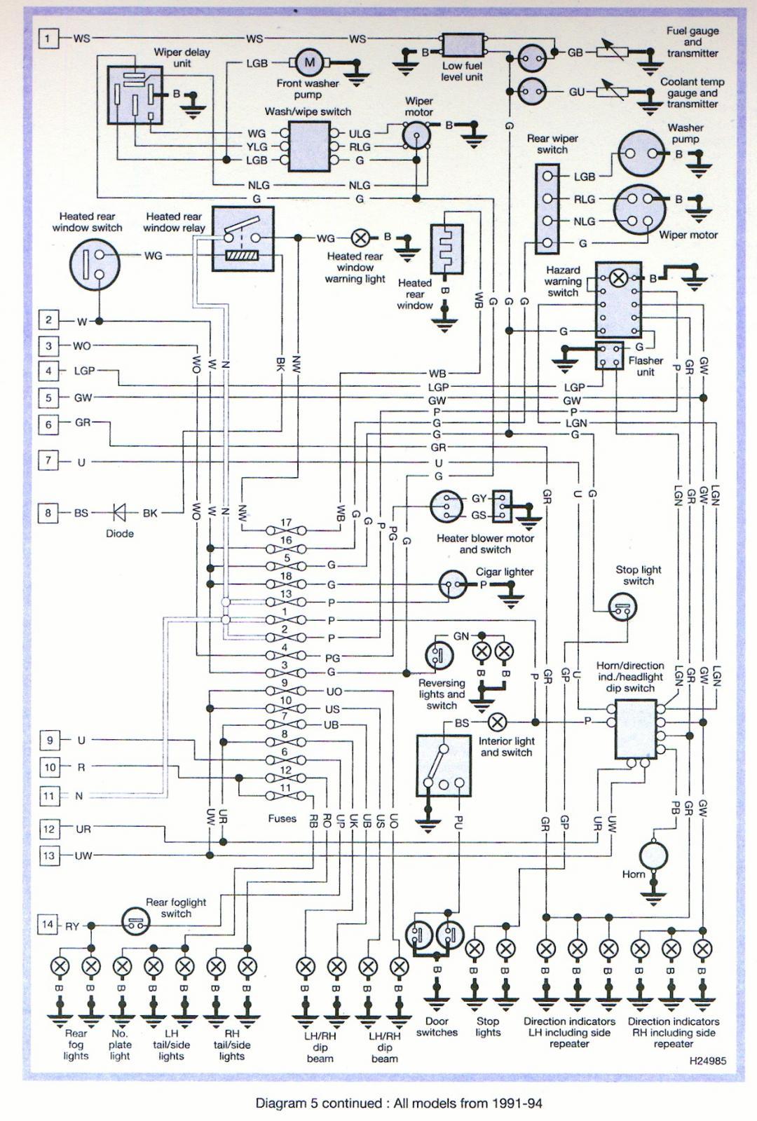 land rover discovery 4 trailer plug wiring diagram warn a2000 upgrade indicators broken defender forum lr4x4 the