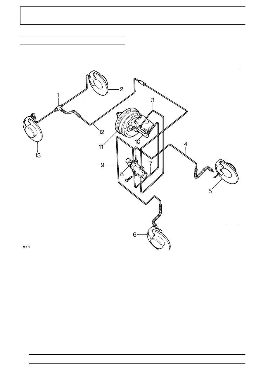 [WRG-1835] Rover Brakes Diagram