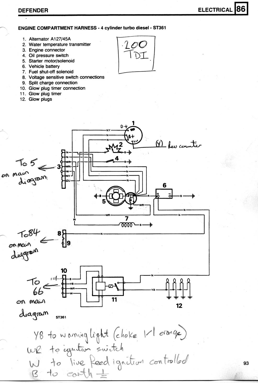 hight resolution of glow plug relay wiring defender forum lr4x4 the land rover forum solenoid glow plug wiring diagram