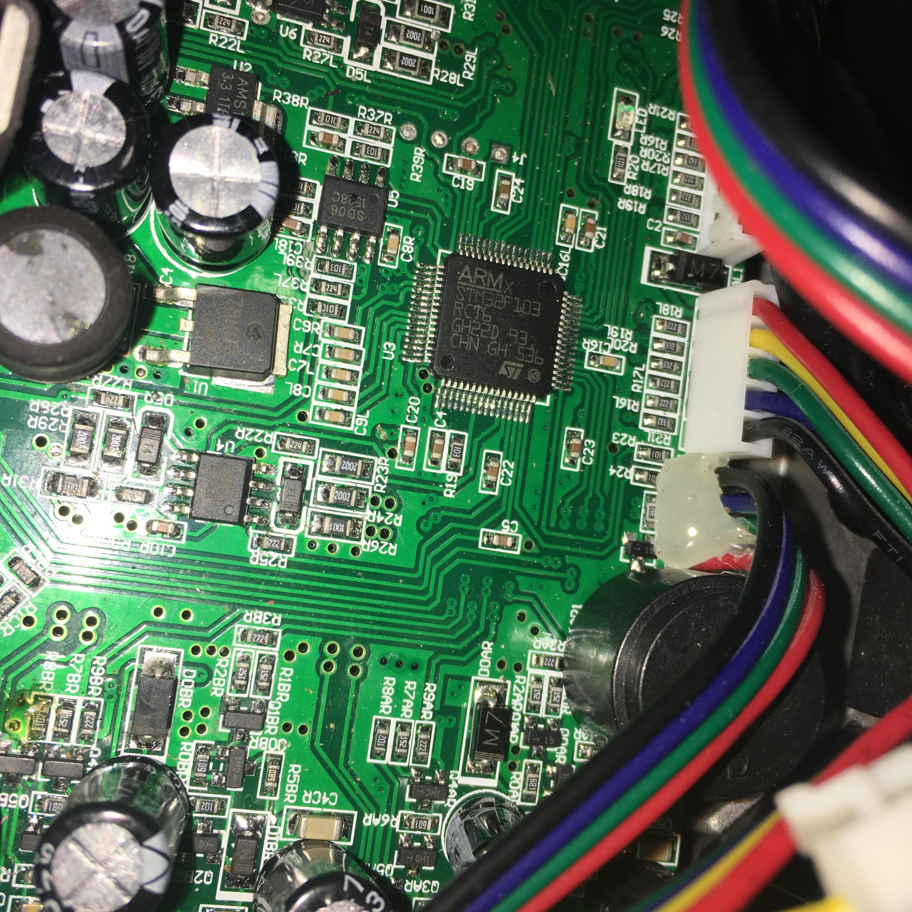 motherboard circuit diagram 2000 isuzu rodeo radio wiring smart self balancing electric scooter hover board fault diagnosis and repair - hoverboard ...