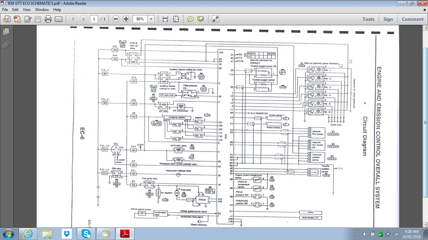 rb25det alternator wiring diagram free download wiring diagram rh xwiaw us rb25det ecu pinout diagram rb25 ecu pinout diagram
