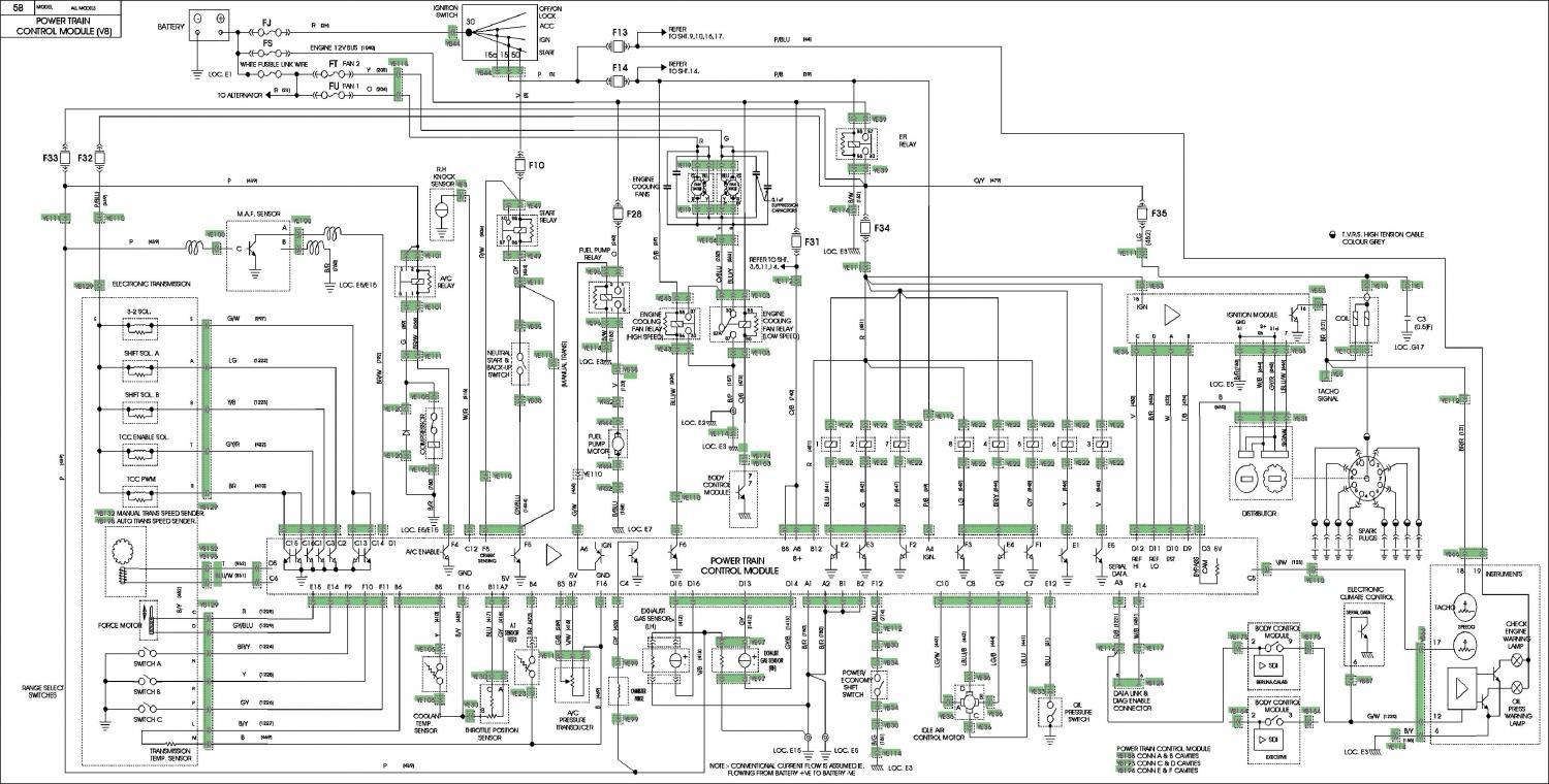 hight resolution of vn v8 wiring diagram electrical wiring diagram