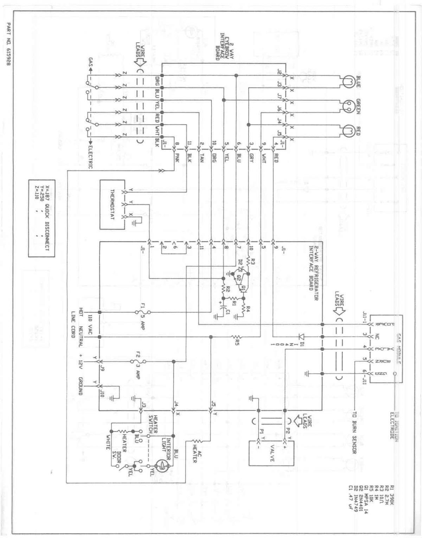 Norcold Fridge Wiring Diagram Trusted Diagrams Bohn 1200 Rv Refrigerator