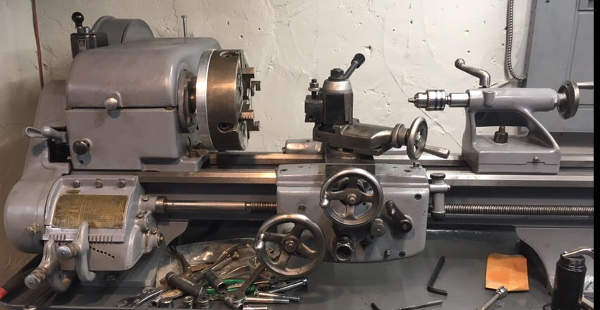 Logan Lathe Milling Attachment