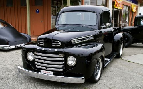 small resolution of 1951 ford f1 pickup black fvl