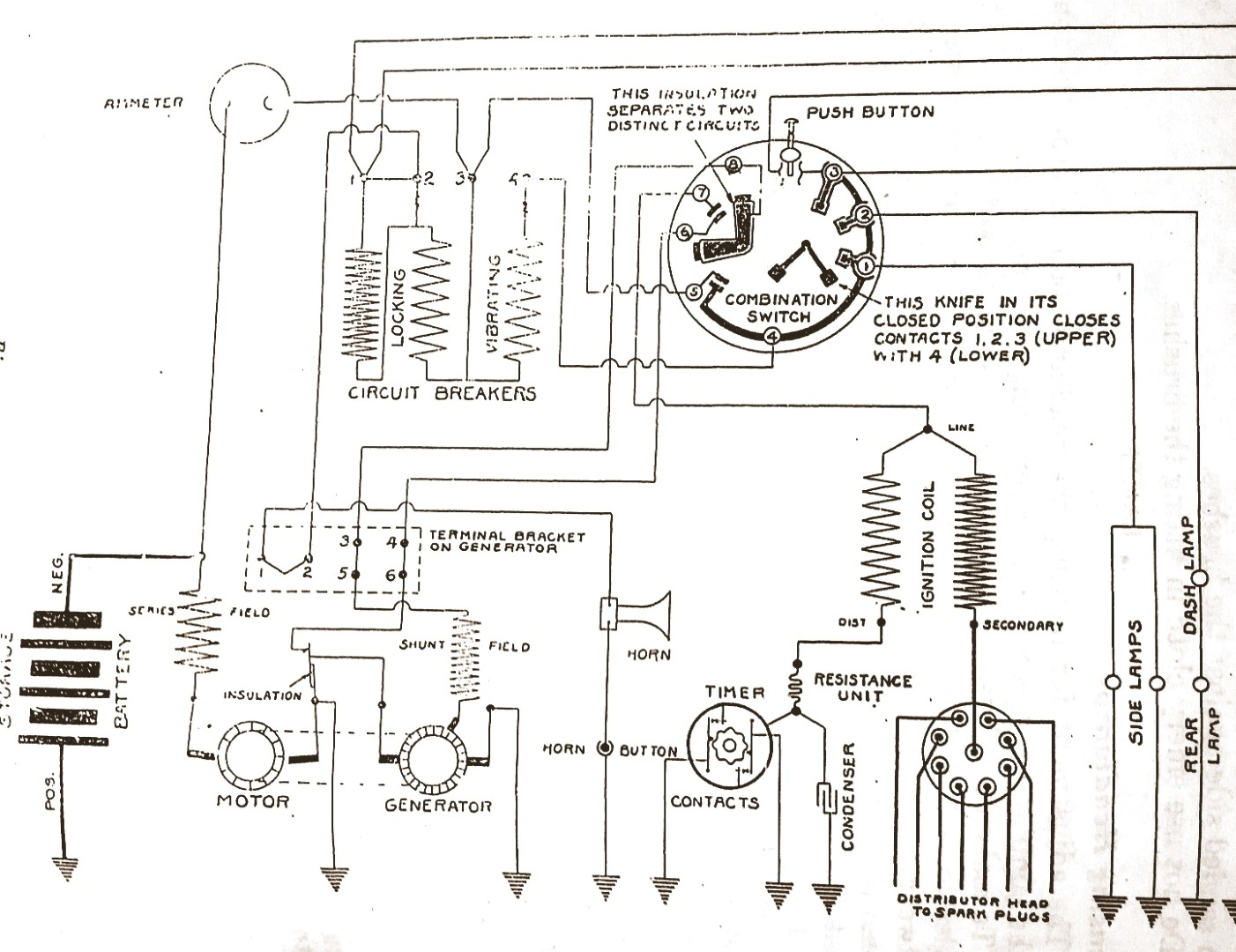 hight resolution of delco 1920 starter generator question buick pre war technical wiring diagrams of 1921 buick model 6 21 delco equipment