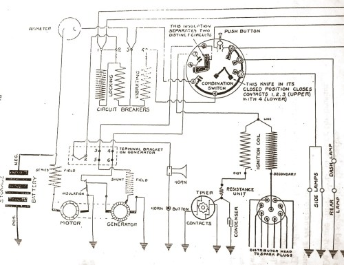 small resolution of delco 1920 starter generator question buick pre war technical wiring diagrams of 1921 buick model 6 21 delco equipment
