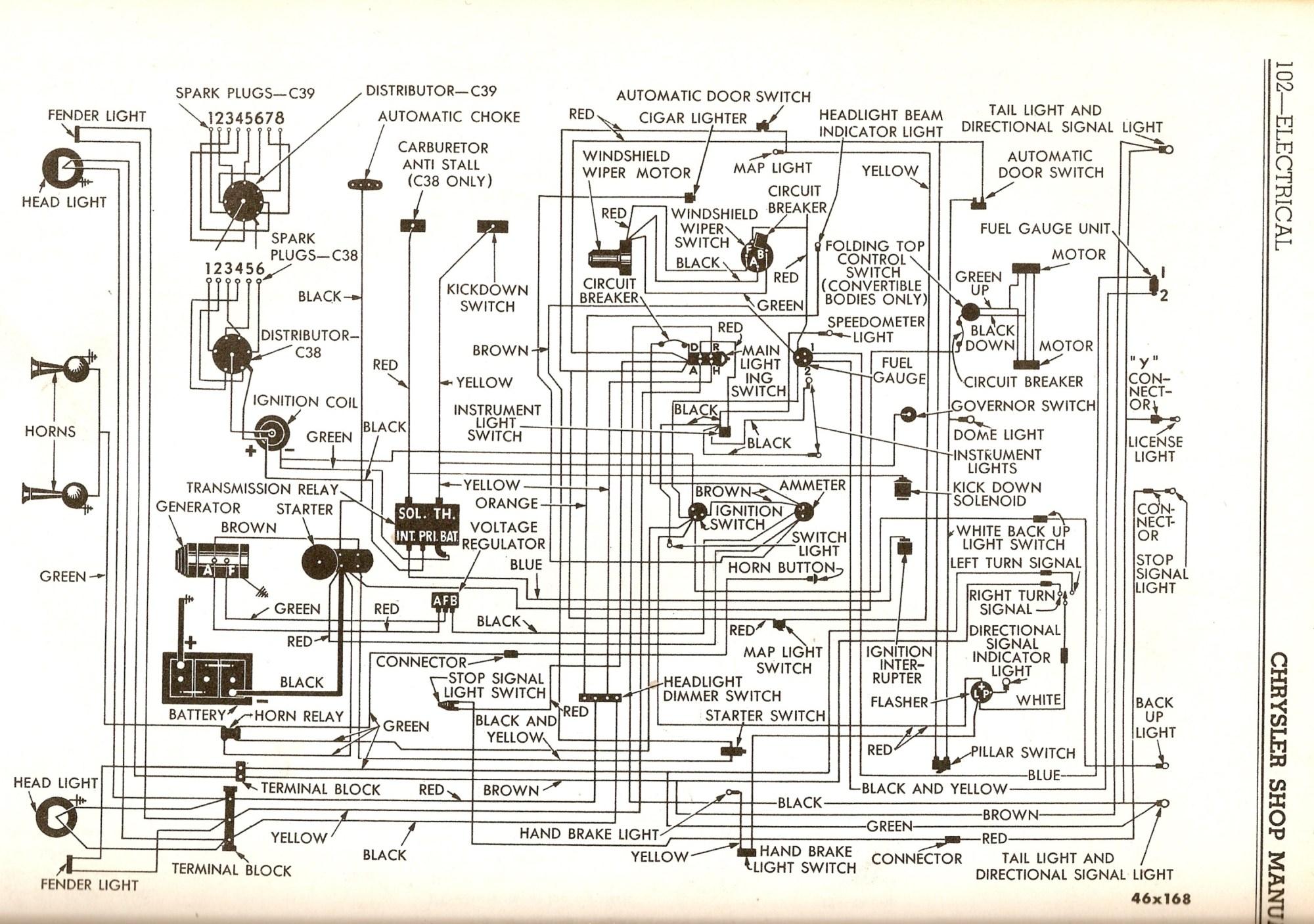 hight resolution of 54 chrysler new yorker wiring diagram simple wiring diagram schema 1967 chrysler new yorker 1985 chrysler new yorker wiring diagram