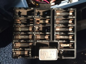 64 Riv, remove panel from fuse box?  Buick Riviera  Riviera Owners Association  Antique
