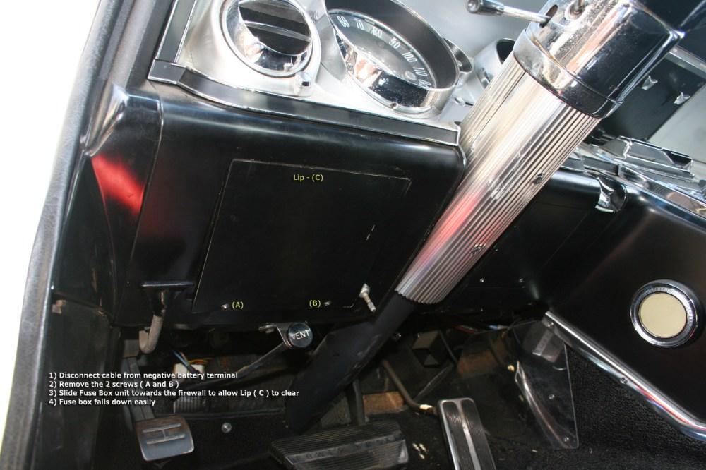medium resolution of 64 riv remove panel from fuse box buick riviera riviera owners 1968 buick riviera