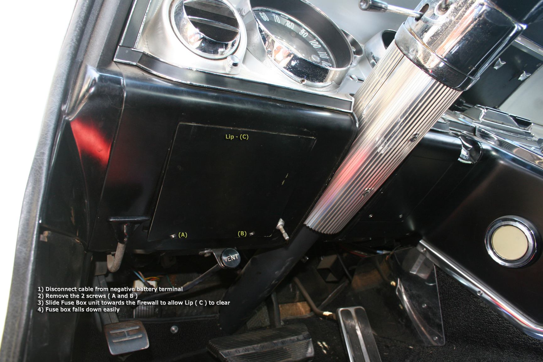 hight resolution of 64 riv remove panel from fuse box buick riviera riviera owners 1968 buick riviera