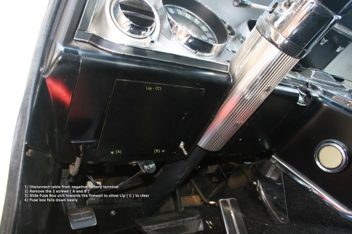 small resolution of 64 riv remove panel from fuse box buick riviera riviera owners 1968 buick riviera