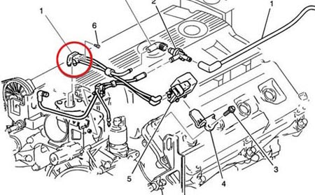 1999 Cadillac Deville Wiring Harness For Engine : 47