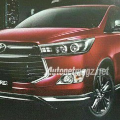 Harga New Innova Venturer 2018 Mobil Grand Avanza Pics Toyota Leaked Ahead Of Unveil Indian Cars Top Spec Variant For The Gets Subtle Styling Tweaks Likely To Come With Petrol And Diesel Engine Options