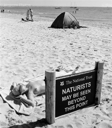 Magnum Photos' Picture of the Week – Naturists by Stuart Franklin